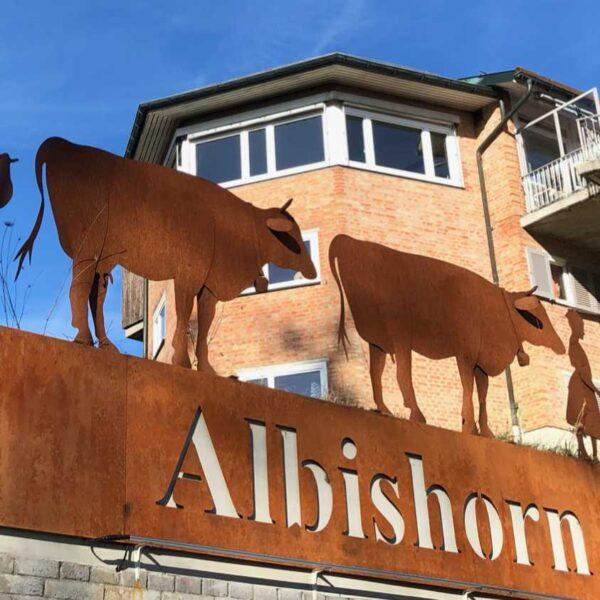 Albishorn von unten