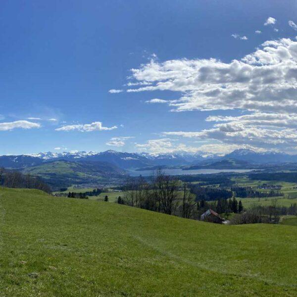 Aussicht in Richtung Zentralschweiz